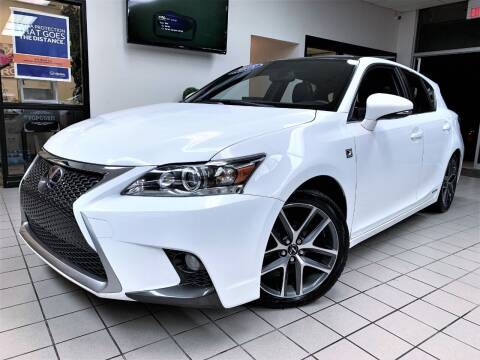 2015 Lexus CT 200h for sale at SAINT CHARLES MOTORCARS in Saint Charles IL