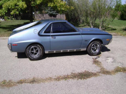 1970 AMC AMX for sale at Hines Auto Sales in Marlette MI