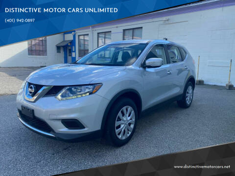 2015 Nissan Rogue for sale at DISTINCTIVE MOTOR CARS UNLIMITED in Johnston RI