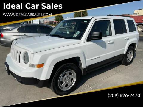 2015 Jeep Patriot for sale at Ideal Car Sales in Los Banos CA