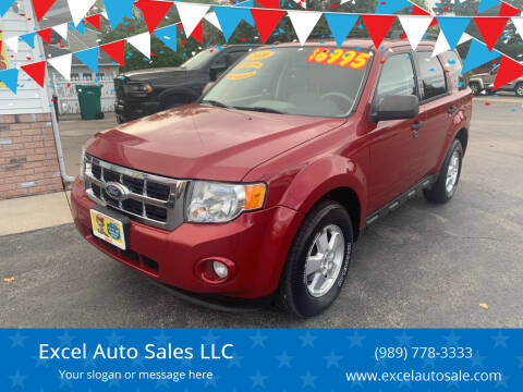 2010 Ford Escape for sale at Excel Auto Sales LLC in Kawkawlin MI