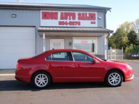 2012 Ford Fusion for sale at ENON AUTO SALES in Enon OH