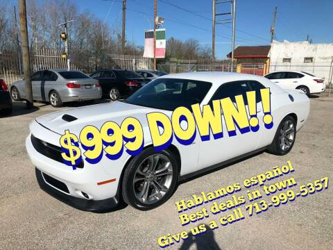 2020 Dodge Challenger for sale at Saipan Auto Sales in Houston TX