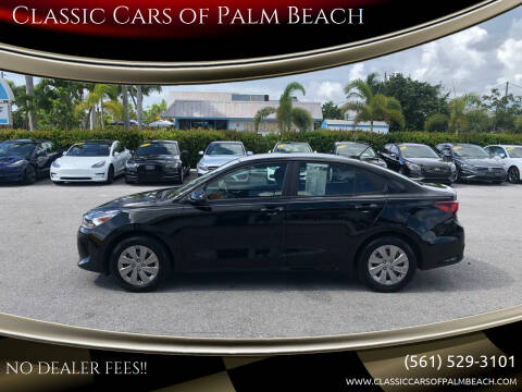 2020 Kia Rio for sale at Classic Cars of Palm Beach in Jupiter FL