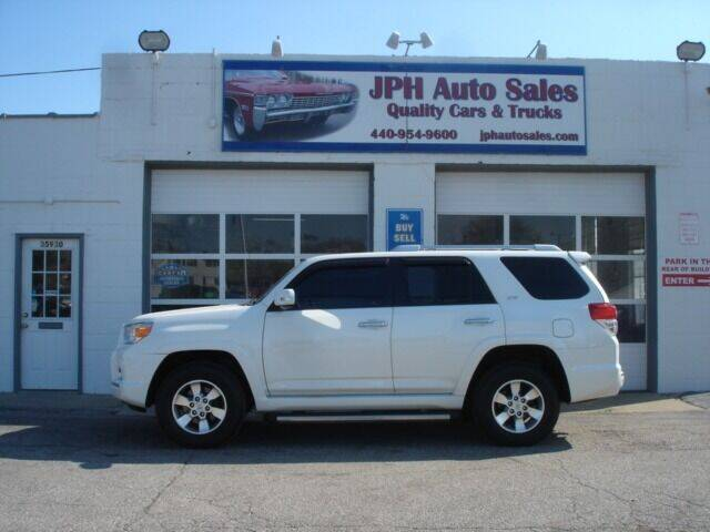 2011 Toyota 4Runner for sale at JPH Auto Sales in Eastlake OH