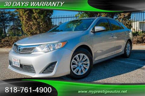 2012 Toyota Camry for sale at Prestige Auto Sports Inc in North Hollywood CA