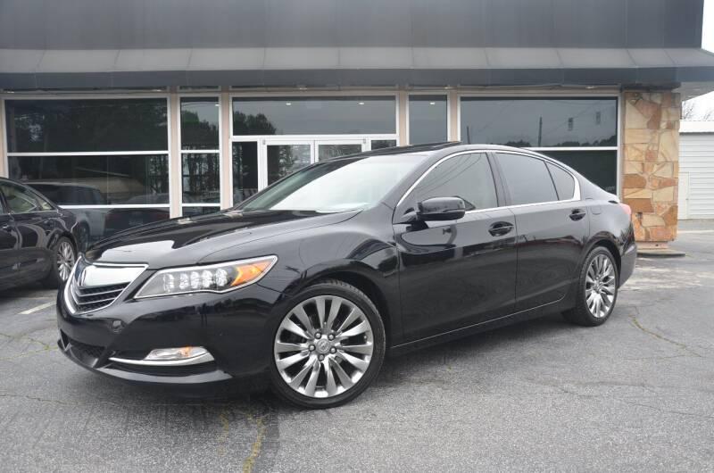 2016 Acura RLX for sale at Amyn Motors Inc. in Tucker GA
