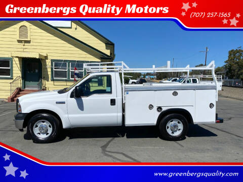2007 Ford F-350 Super Duty for sale at Greenbergs Quality Motors in Napa CA