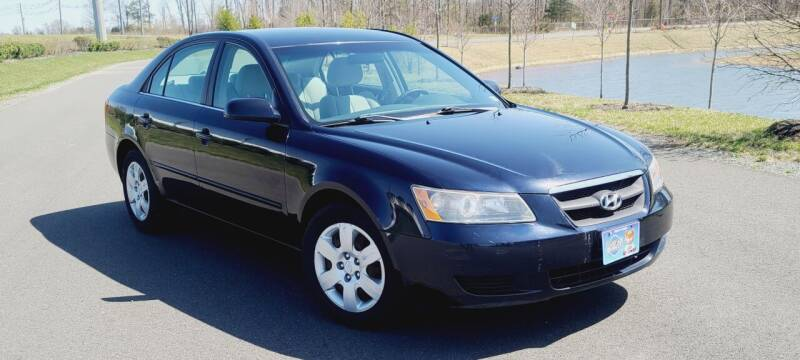 2008 Hyundai Sonata for sale at BOOST MOTORS LLC in Sterling VA