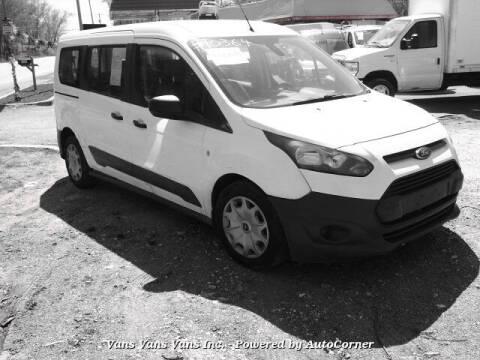 2017 Ford Transit Connect Wagon for sale at Vans Vans Vans INC in Blauvelt NY