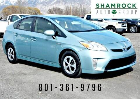 2013 Toyota Prius for sale at Shamrock Group LLC #1 in Pleasant Grove UT