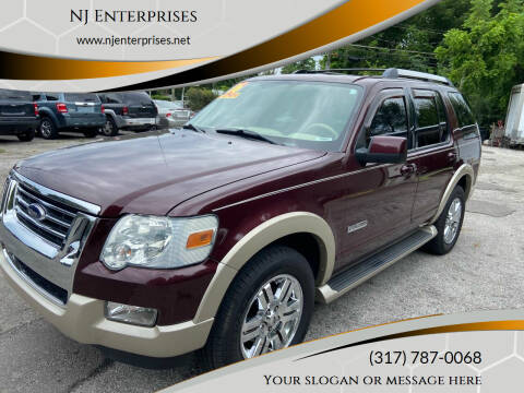 2006 Ford Explorer for sale at NJ Enterprises in Indianapolis IN