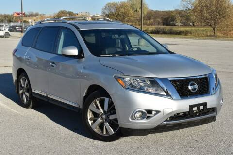 2015 Nissan Pathfinder for sale at Big O Auto LLC in Omaha NE