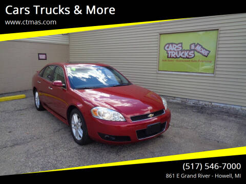 2014 Chevrolet Impala Limited for sale at Cars Trucks & More in Howell MI