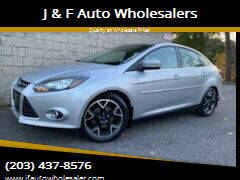 2012 Ford Focus for sale at J & F Auto Wholesalers in Waterbury CT