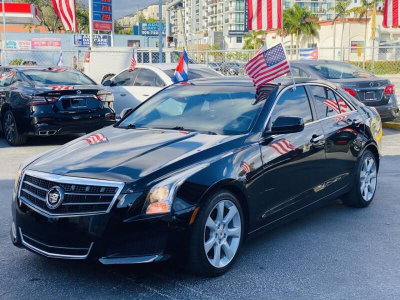 2014 Cadillac ATS for sale at CHASE MOTOR in Miami FL