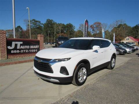 2019 Chevrolet Blazer for sale at J T Auto Group in Sanford NC