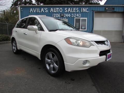 2008 Acura RDX for sale at Avilas Auto Sales Inc in Burien WA