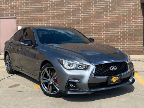 2018 Infiniti Q50 for sale at Effect Auto Center in Omaha NE