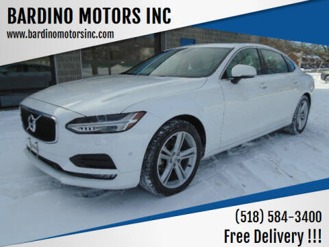 2018 Volvo S90 for sale at BARDINO MOTORS INC in Saratoga Springs NY