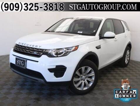 2018 Land Rover Discovery Sport for sale at STG Auto Group in Montclair CA