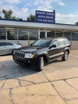 2007 Jeep Grand Cherokee for sale at Right Away Auto Sales in Colorado Springs CO
