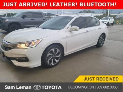 2016 Honda Accord for sale at Sam Leman Mazda in Bloomington IL