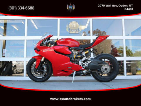 2014 Ducati 1199 Panigale for sale at S S Auto Brokers in Ogden UT