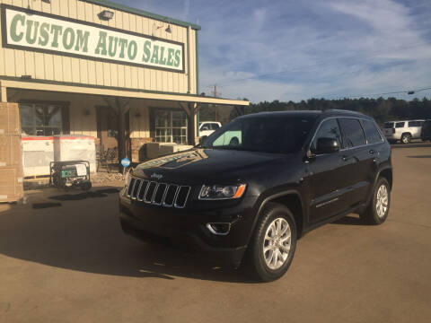 2015 Jeep Grand Cherokee for sale at Custom Auto Sales - AUTOS in Longview TX