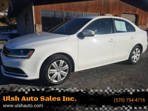 2017 Volkswagen Jetta for sale at Ulsh Auto Sales Inc. in Summit Station PA