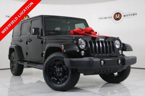 2015 Jeep Wrangler Unlimited for sale at INDY'S UNLIMITED MOTORS - UNLIMITED MOTORS in Westfield IN