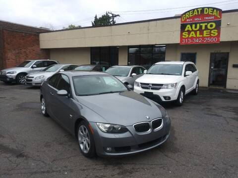 2009 BMW 3 Series for sale at GREAT DEAL AUTO SALES in Center Line MI