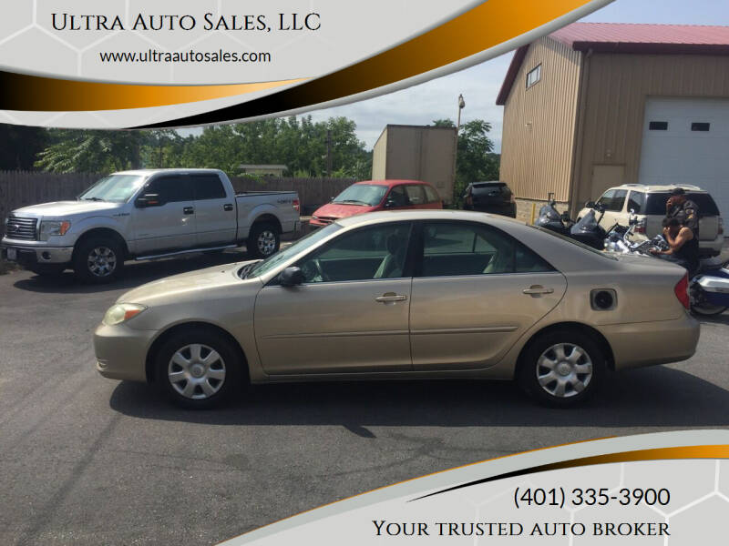 2003 Toyota Camry for sale at Ultra Auto Sales, LLC in Cumberland RI