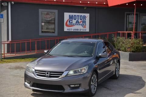 2015 Honda Accord for sale at Motor Car Concepts II - Kirkman Location in Orlando FL