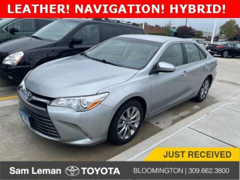 2016 Toyota Camry Hybrid for sale at Sam Leman Toyota Bloomington in Bloomington IL