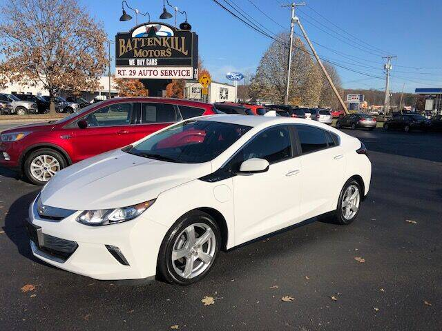 2017 Chevrolet Volt for sale at BATTENKILL MOTORS in Greenwich NY