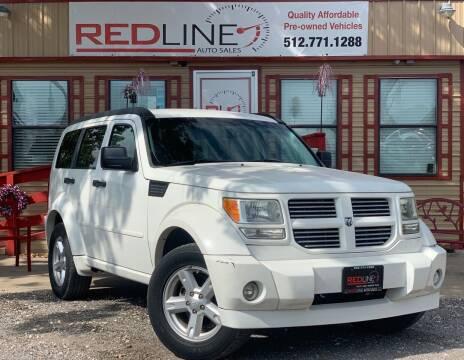 2007 Dodge Nitro for sale at REDLINE AUTO SALES LLC in Cedar Creek TX