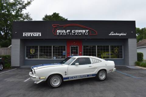 1976 Ford Mustang II for sale at Gulf Coast Exotic Auto in Biloxi MS