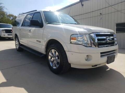 2008 Ford Expedition EL for sale at Thornhill Motor Company in Lake Worth TX