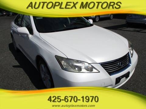 2007 Lexus ES 350 for sale at Autoplex Motors in Lynnwood WA