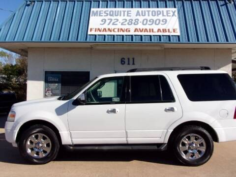 2011 Ford Expedition for sale at MESQUITE AUTOPLEX in Mesquite TX