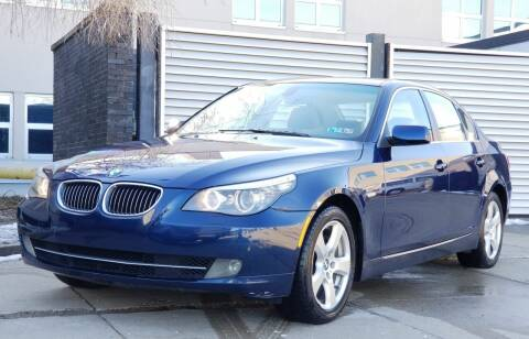2008 BMW 5 Series for sale at FAYAD AUTOMOTIVE GROUP in Pittsburgh PA