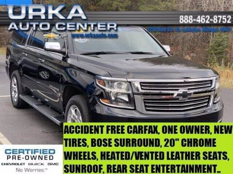 2018 Chevrolet Suburban for sale at Urka Auto Center in Ludington MI