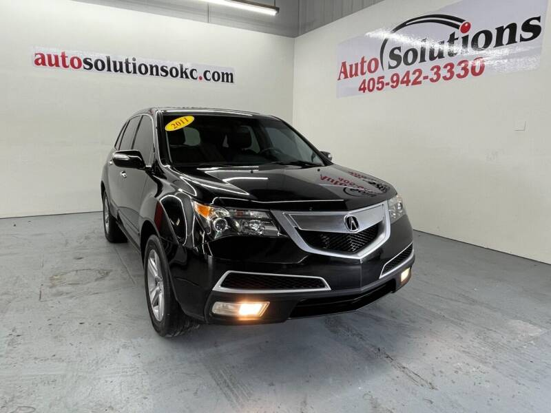 2011 Acura MDX for sale at Auto Solutions in Warr Acres OK