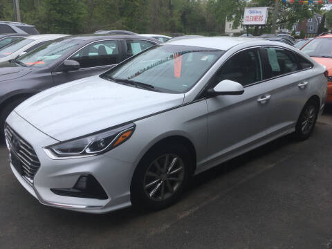 2018 Hyundai Sonata for sale at MELILLO MOTORS INC in North Haven CT