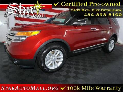 2015 Ford Explorer for sale at STAR AUTO MALL 512 in Bethlehem PA