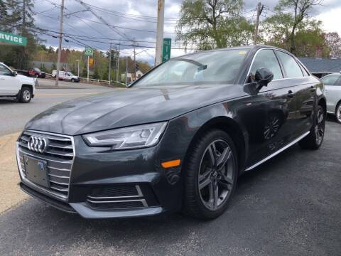 2018 Audi A4 for sale at RT28 Motors in North Reading MA