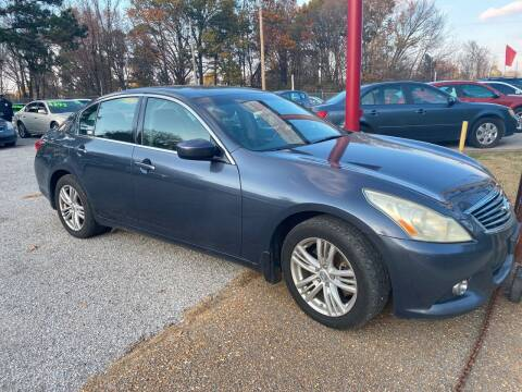 2011 Infiniti G37 Sedan for sale at Super Wheels-N-Deals in Memphis TN