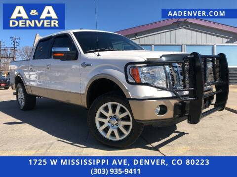 2012 Ford F-150 for sale at A & A AUTO LLC in Denver CO