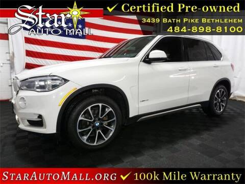 2017 BMW X5 for sale at STAR AUTO MALL 512 in Bethlehem PA